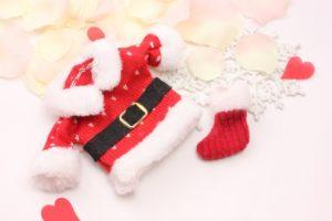 サンタの服とくつ下
