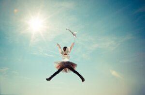 少女 ジャンプ